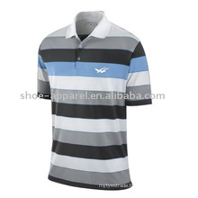 fashion striped man polo t shirt