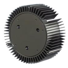 Kundenspezifisch anodisiertes LED-Leichtmetall-Extrusionsprofil Kühlkörper