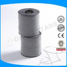 От 0,5 мм до 10 мм Пленка из полиэтилентерефталата стандартная светоотражающая нить для плетения