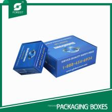 Boîte en carton colorée de fabricant