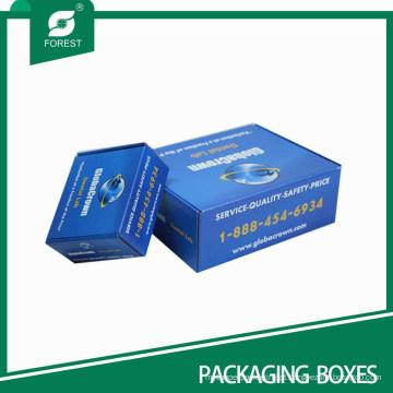 Caixa de papelão colorido fabricante