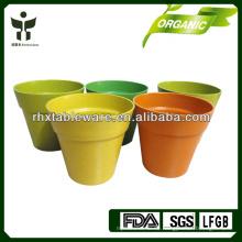 100% natürliche Bambus Blumentöpfe