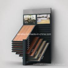 Крыло Стеллаж для выставки товаров плитки для мрамора, гранита, керамической