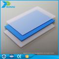 10 años de garantía UV de 6 mm de espesor de policarbonato antiestático plástica hoja de techo plano