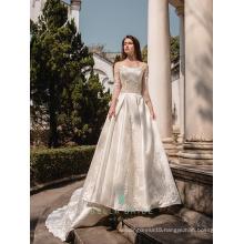 Sexy lace wedding dresses pakistani bridal gown long sleeve islamic wedding dresses without hijab