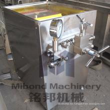Máquina de alta presión del equipo del homogeneizador de la LECHE del acero inoxidable 25MPA