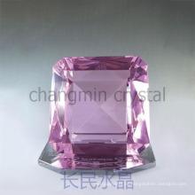 Vender bien nuevo tipo decorativos grandes diamantes de cristal de plástico regalo de invitados de boda