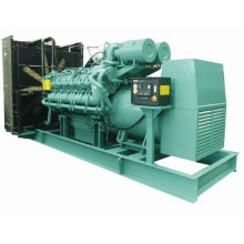 2MW diesel generator with power plant design