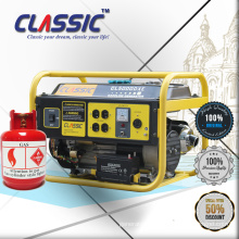 CLASSIC(CHINA) Fuel Save 2KW LPG Gas Generator for Home Use