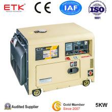 Oridinary Using 5kw Silent Diesel Portable Generator