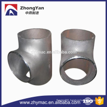 Sch 40 astm a234 wpb welding t shaped pipe elbow