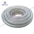 fio de aço reforçado mangueira flexível de pvc de 1,5 polegadas