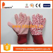 Kids/Childredn Gloves. Red Dots on Palm (DGK121)