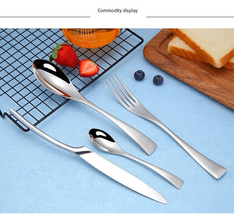 Gold Restaurant Cutlery Set