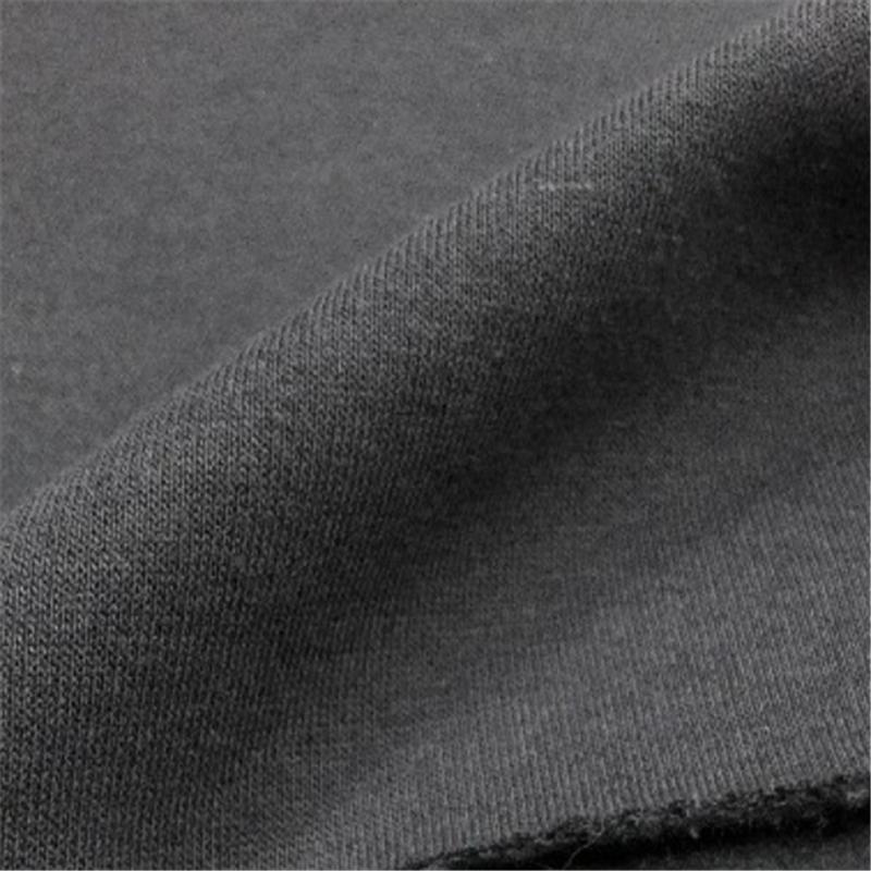 Purplish Blue TC Terry Brushed Knitted Fabrics (2)