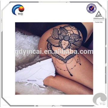 Hips sexy tattoo sticker with beauty design stylish and fashionable Sexy hips tattoos body art temporary tattoo sticker<<< Bright Flower Tattoo Hips<<<