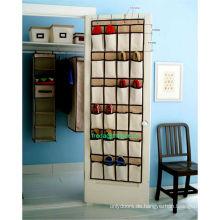 24 Tasche hängen über Tür Schuh Veranstalter Lagerung ordentlich Rack Space Saver Spielzeug
