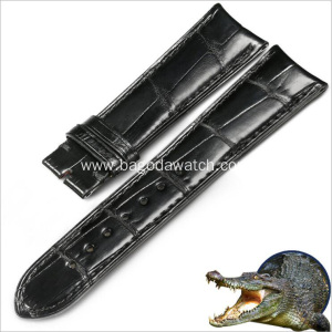 Wholesale crocodile leather strap 19mm