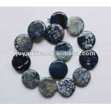 D25X7MM Agate Disc beads