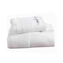 Hot vente serviette de bain comprimé blanc, broder motif serviette de bébé