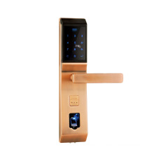serrure de carte à puce de haute qualité avec l'empreinte digitale / code / interaction / clé mécanique