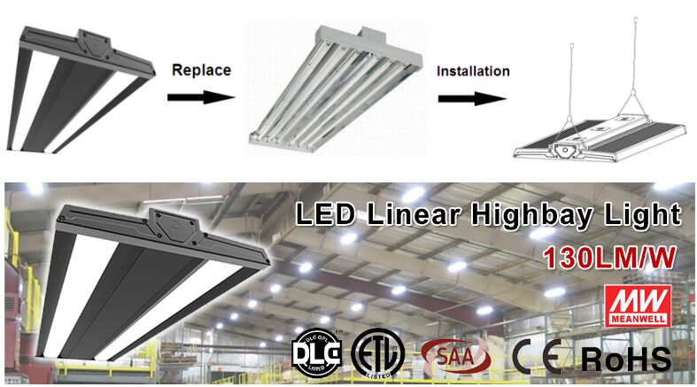 400w led linear high bay