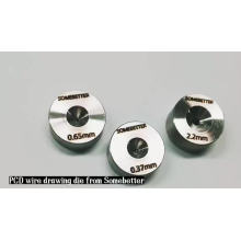 High Hardness Finish & Dimensional Controls Tools Supplier PCD Wire Drawing Dies