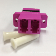 LC / PC Om4 Violett-Faseroptik-Adapter