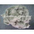 Fibres de laine de vison finement cardées et cardées 14.5mic / 12mm