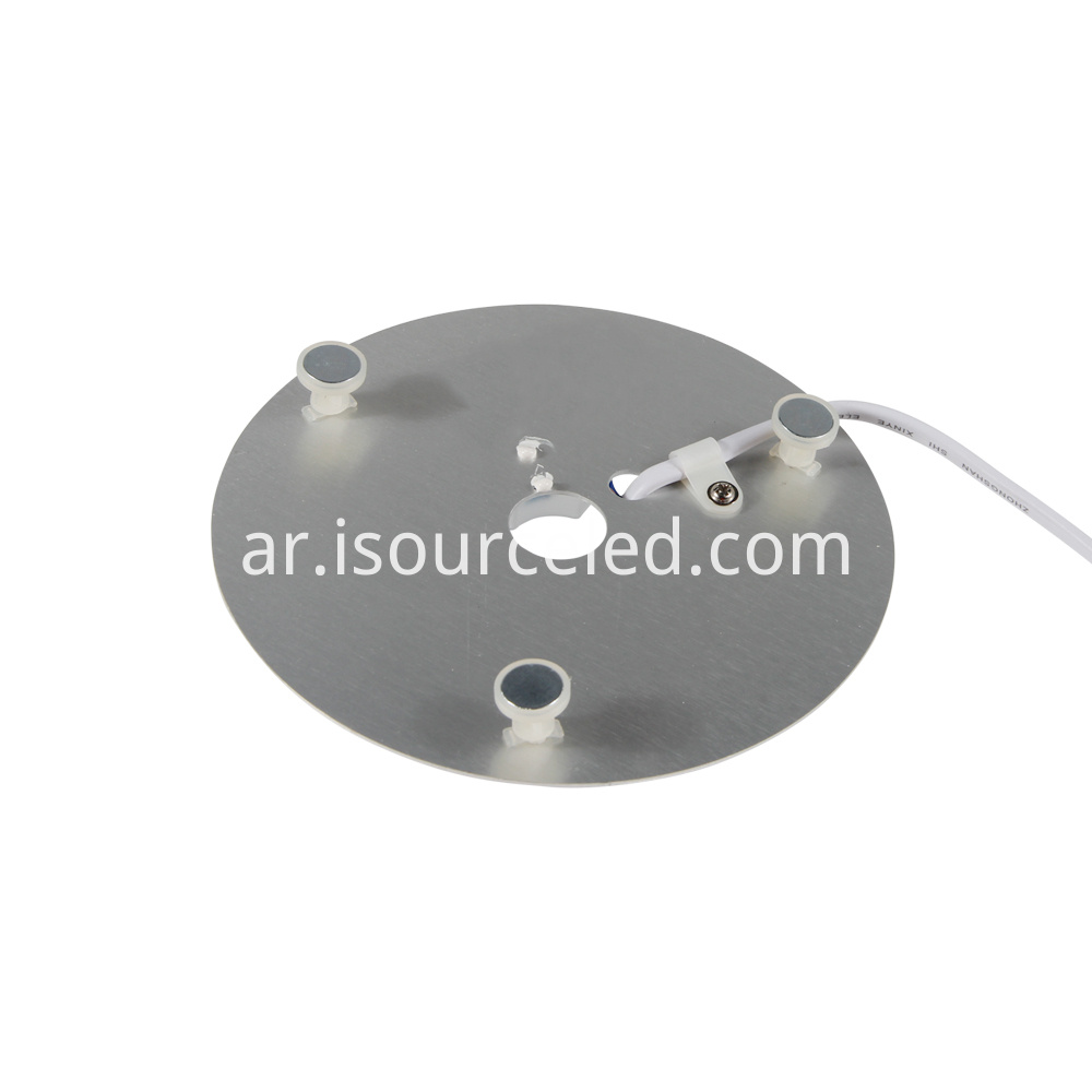 Light and color adjustable 15W white light bottom picture of ceiling light module