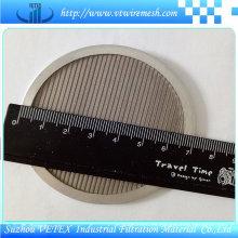 Filtro de malla de disco con una sola capa