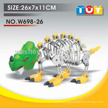 Special design educational DIY metal dinosaur model