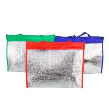 Alum Foil Insulated Sling Wine Carry Cooler Bag