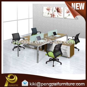 15F042 office workstations modular with tabletop cable channel 09