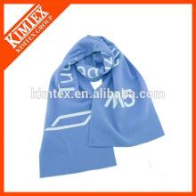 Venta al por mayor bufanda azul poliéster