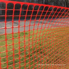 Orange color Plastic Safety warning mesh