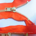 Manufacturer Top Quality #5 Metal Zipper Auto Lock Open End