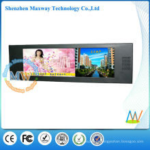 Leitor de anúncios lcd widescreen de 15 polegadas