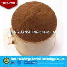 Pâte à pâtes de briqueterie en charbon ou dispersant en céramique Sulfate de ligno de sodium