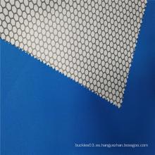 Nuevas telas funcionales impermeables con forma de panal de arrivel