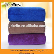 70*140 300gsm private label blue microfiber towel