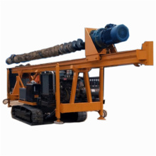 Photovoltaic construction long spiral pile driver