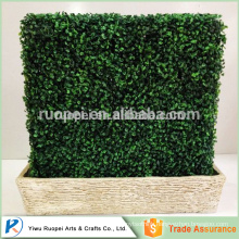 Plastic Artificial grass fence , artificial grass factory , artificial leaf fence