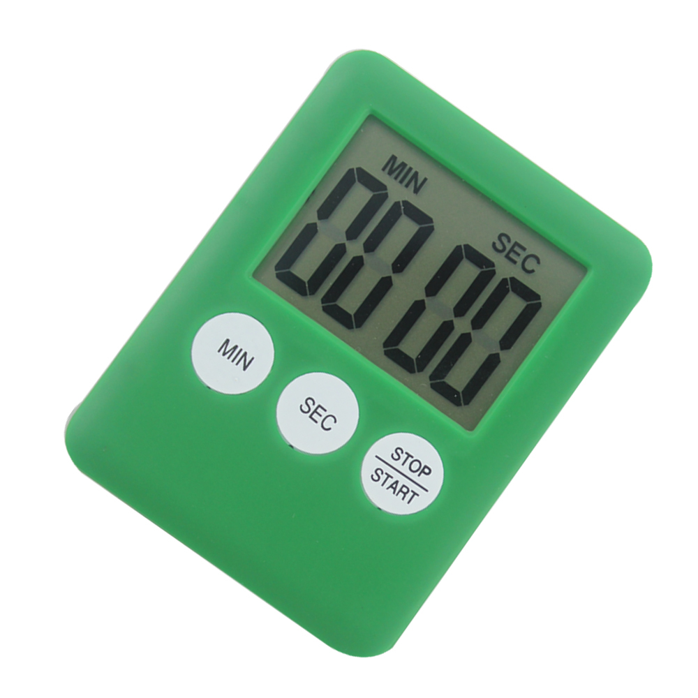 Mini digital count-up count-down kitchen timer