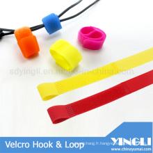 Crochet réutilisable & bande de boucle pour les Sports de plein air