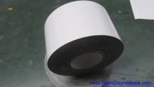 Polyethylene adhesive outer wrap tape