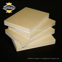 JINBAO imperméabilisent la plaque de celuka de WPC / panneau de mousse / feuille de PVC pour la construction