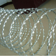 Concertina Razor Barbed Wire Airport Fence