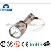 Lumens alumínio CREE LED poder estilo lanterna