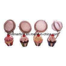 Souvenir Cake Decor Tea Filter Gifts, Tea Infuser Cadeaux promotionnels,